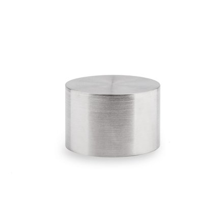Picture: End cap stainless steel straight