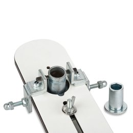 Figure: Drilling jig S1 plus for angle section mounted...